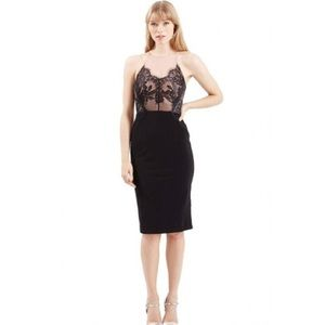 Topshop Lace Bodice Dress NWT